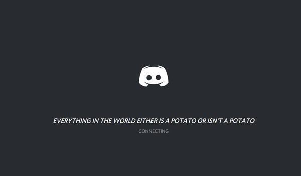 Well I guess I'm a potato '-'