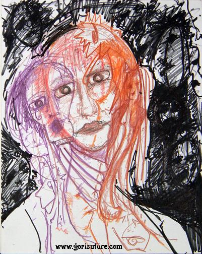 Self Portrait by Gori-Suture