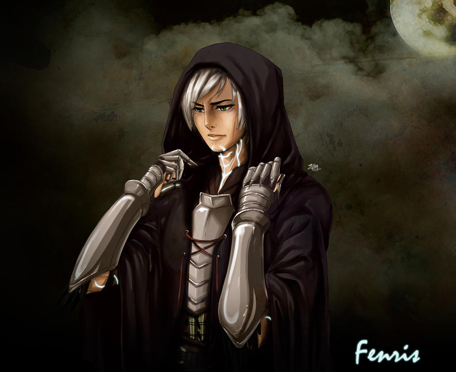 Fenris in hood by zzingne