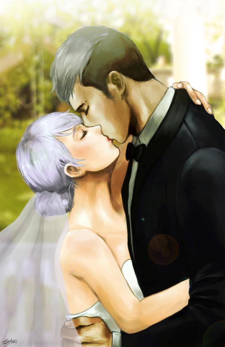 OC wedding by zzingne