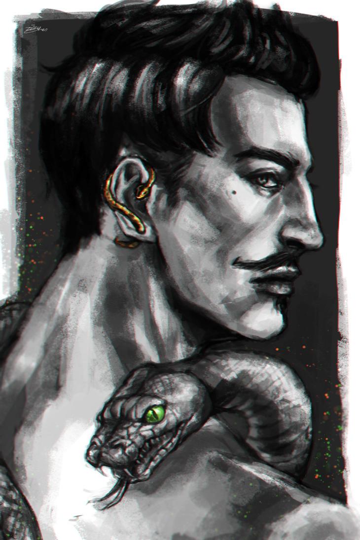 Dorian pavus by zzingne