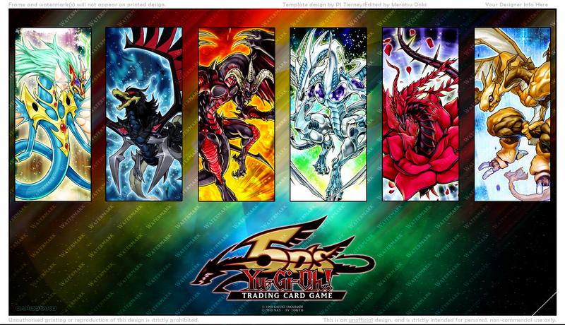 Yu-Gi-Oh 5D's: Dragon Mat Version 2 by CardOtaku on DeviantArt