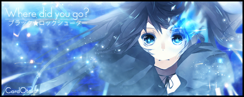 Black Rock Shooter: Where did you go? by CardOtaku
