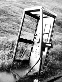 Scotland - Phone booth
