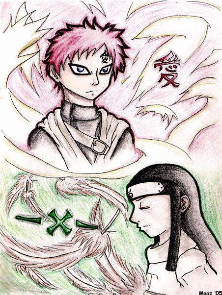 Gaara and Neji - WTFness by padfootmoony-grl on DeviantArt Gaara And Neji