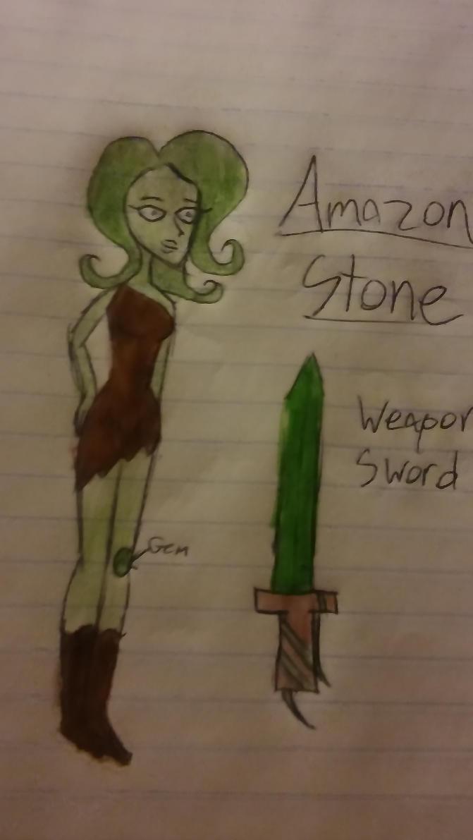 Amazon Stone Gemsona by Insanegurl123