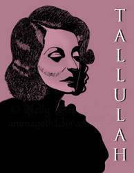 Tallulah Bankhead by darkangel836