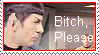 Spock Stamp by darkangel836