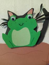 Frog Army Closeup: Kitty