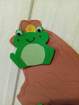 Frog Army Closeups: Cowboy zoom in