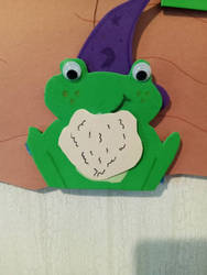 Frog Army Closeup: The Wizard