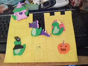 Frog Army 3: The Castle Scene