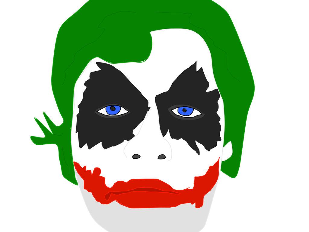 My Joker Makeup Vector Quick By Supersaiyanbatman On Deviantart