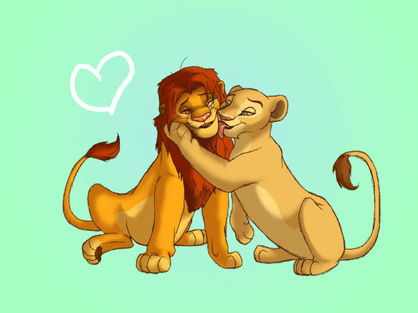 simba and nala wallpaper by WingsofaButterfly202 on DeviantArt