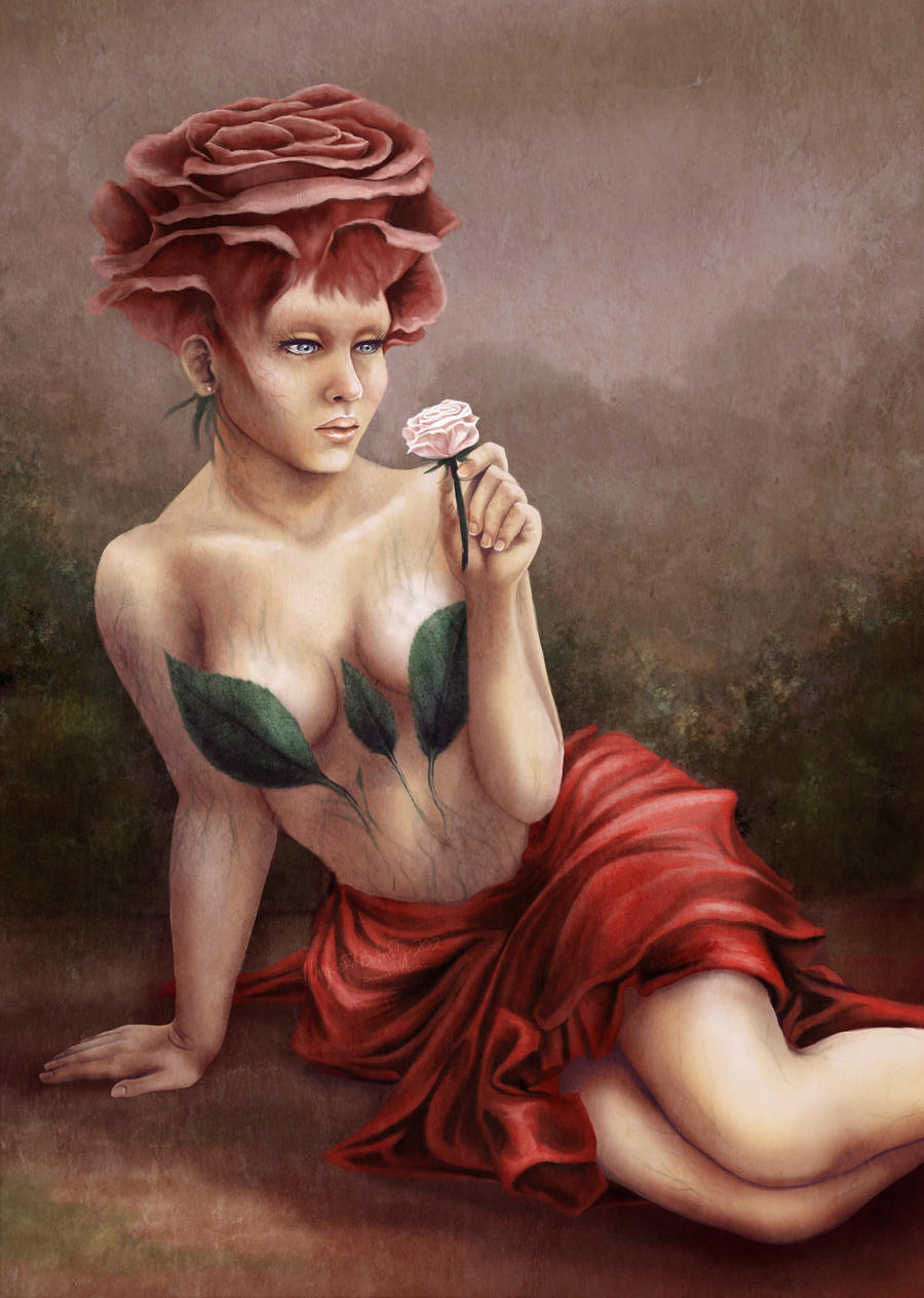 Rose Lady By Wingsofabutterfly202 On Deviantart