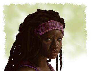 Michonne by Kara-Kiwi