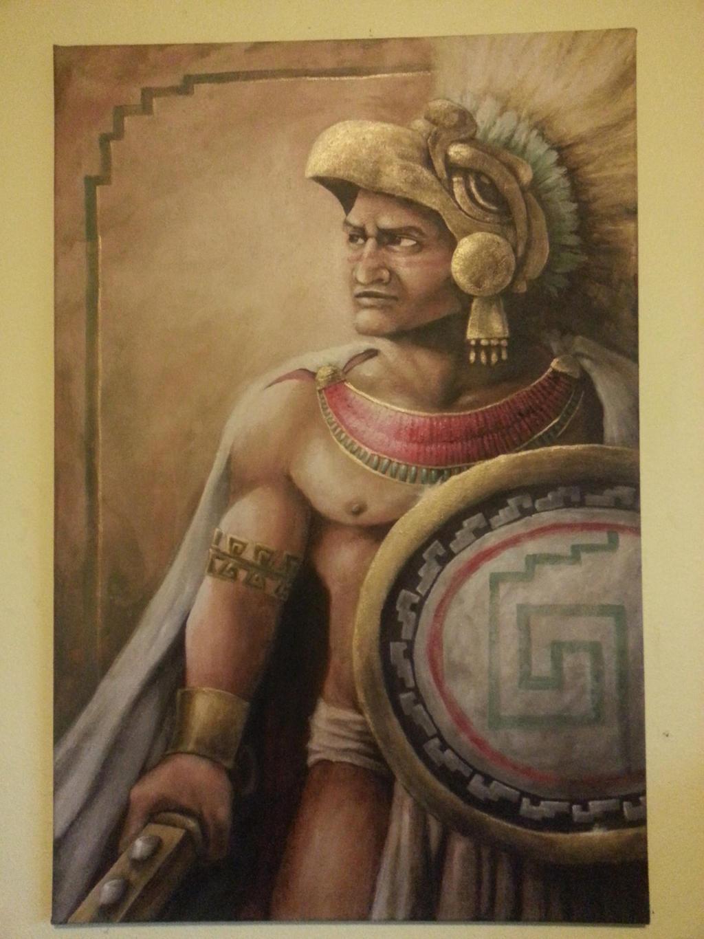 Famous Aztec Warrior Paintings