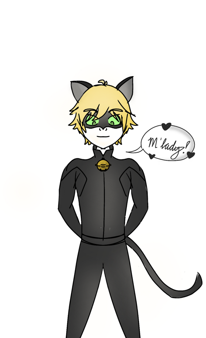 Cat Noir (different art style) by Chill-wolf