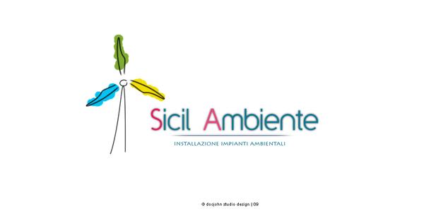 Sicil Ambiente Logo by D0cJohn