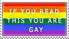 if u read this ur gay by MartyMurray