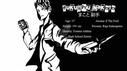 Fukushu Makoto in P5 style