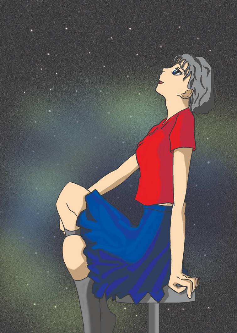 Smiling at the Stars by Fukushu-Makoto12