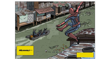 Spiderman in the Slums