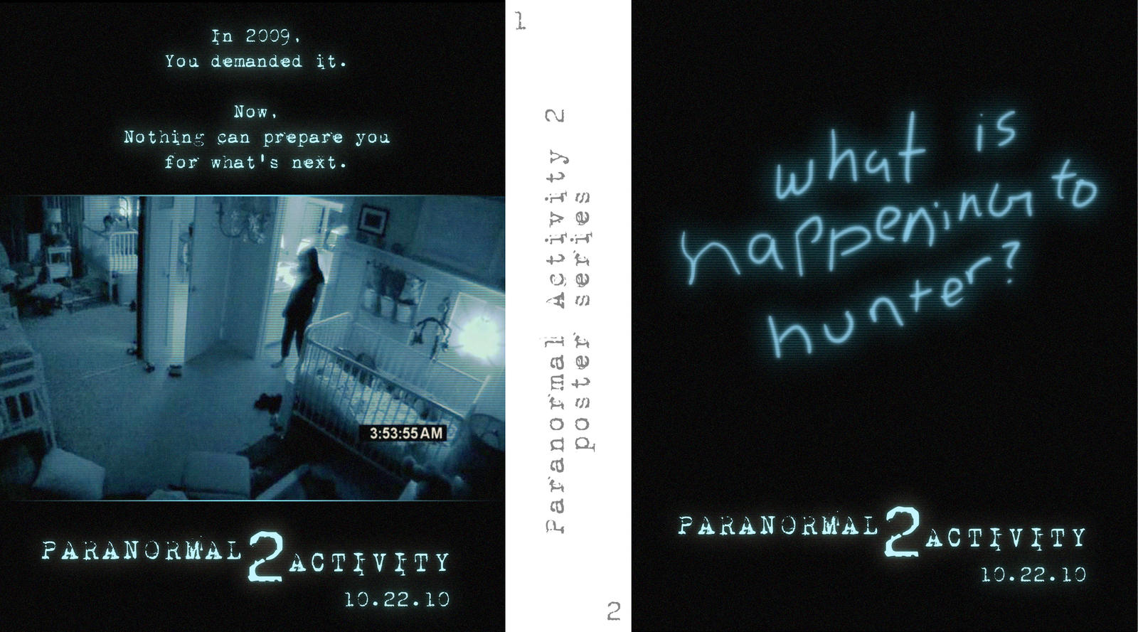 Paranormal Activity 2 Posters by Schizoepileptic