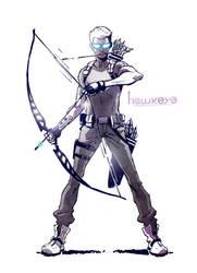 Hawkeye by CLE2