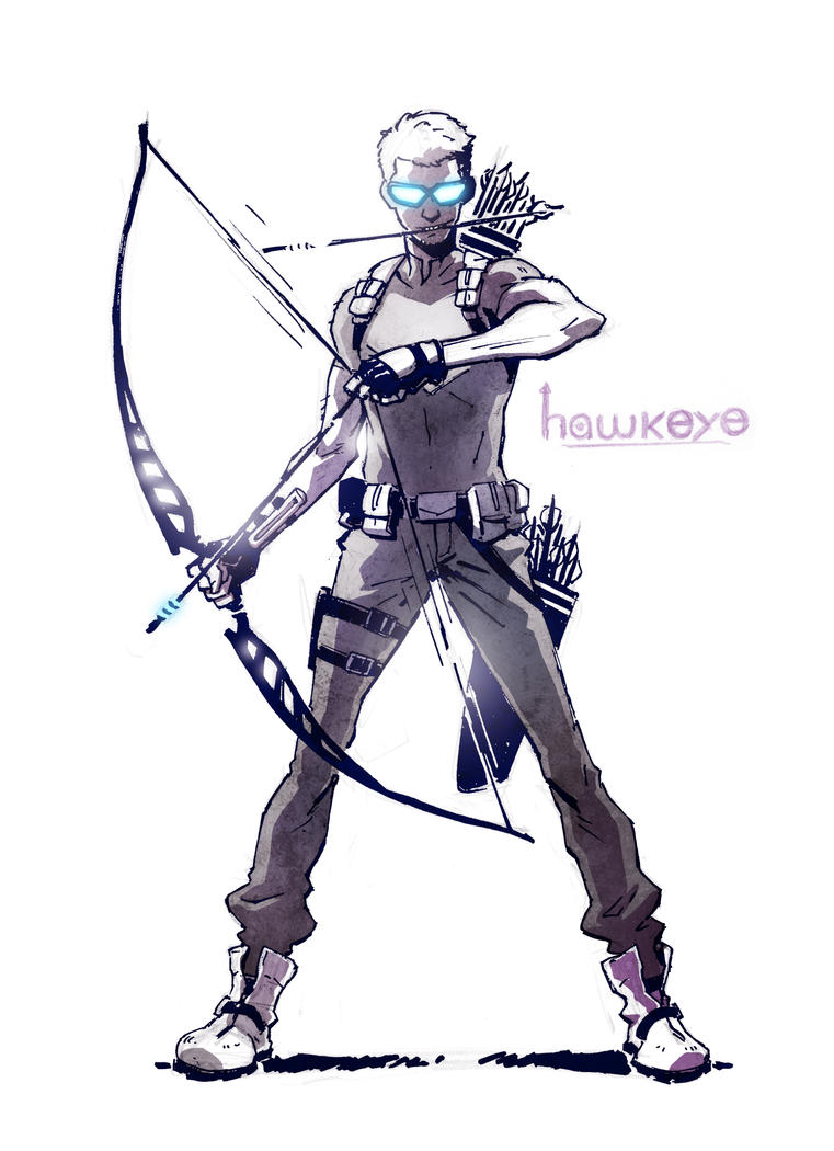 Hawkeye by CLE2