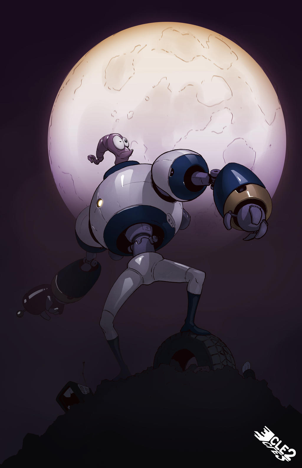 Earthworm Jim Redesign by CLE2