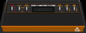 Atari 2600 console (Pixel-art) by AloneAgainstPixels