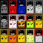 Gameboy Advance SP (Pixel-art) by AloneAgainstPixels