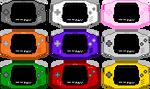 Gameboy Advance Pixel-Art by AloneAgainstPixels
