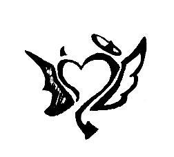 Tattoo design Devil's Advocate by silentpsychosis