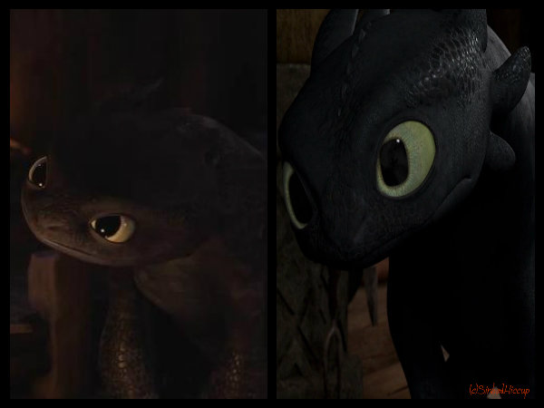 Confronting Toothless by SinbadHiccup