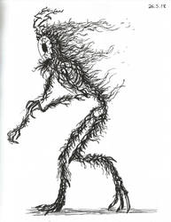 Ink doodle by GamerSelkie