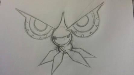UU Masquerain sketch by ateck5