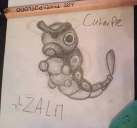 Caterpie Sketch by ateck5