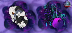 Finished YCHes - Sketchy Space by SKproductionsArt