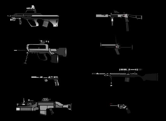 Weapons V 2 by ~Iskaksen on