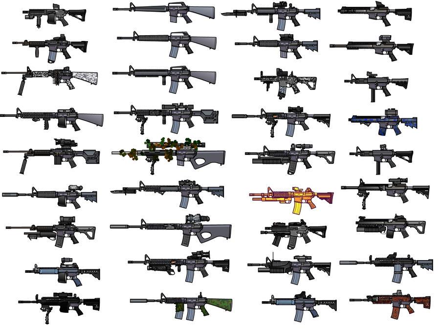 AR-15 Wallpaper by Iskaksen  M14 Rifle Wallpaper