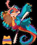 Bavom #210 - Fruit Dragon