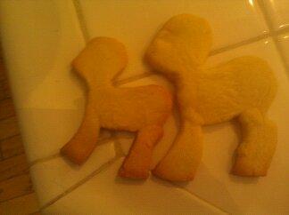 MLP FIM Pony Base Cookies by MLPFIMLUVR