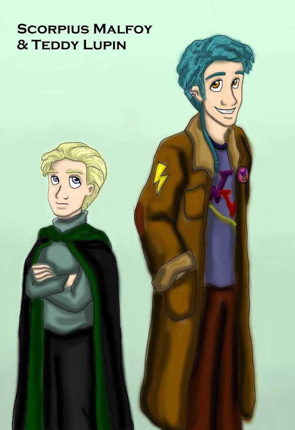 NG - Malfoy and Lupin by DKCissner on DeviantArt  NG - Malfoy and...