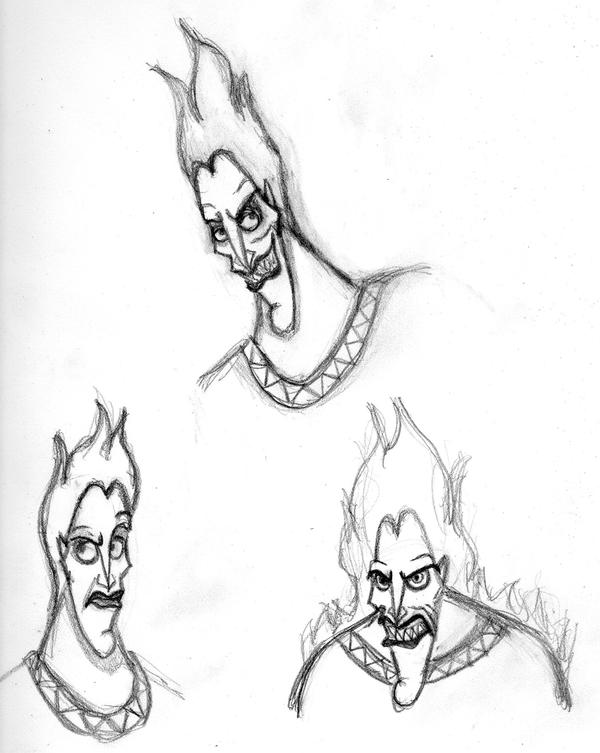 Hades Drawing Face Olivero