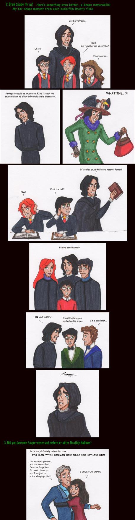 Snape meme part 2 by DKCissner