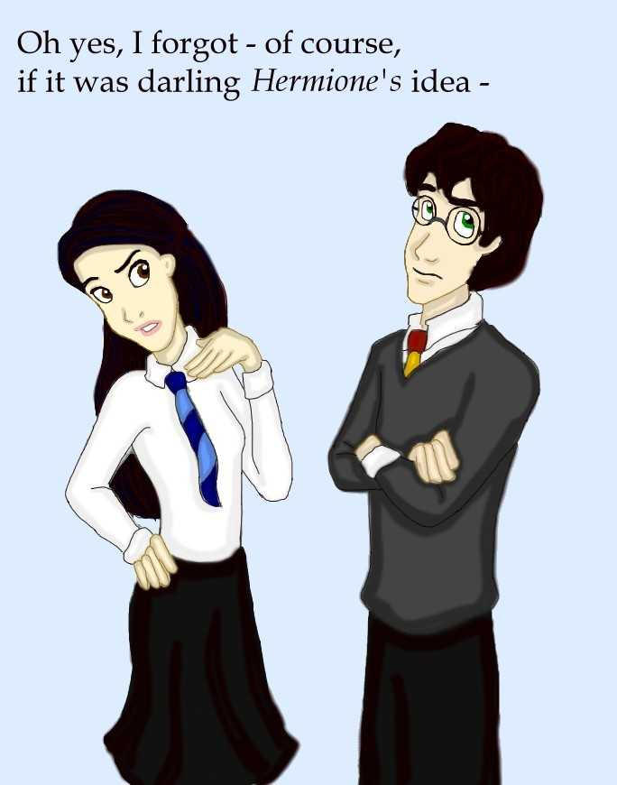 Harry and Cho - The Breakup by DKCissner on DeviantArt