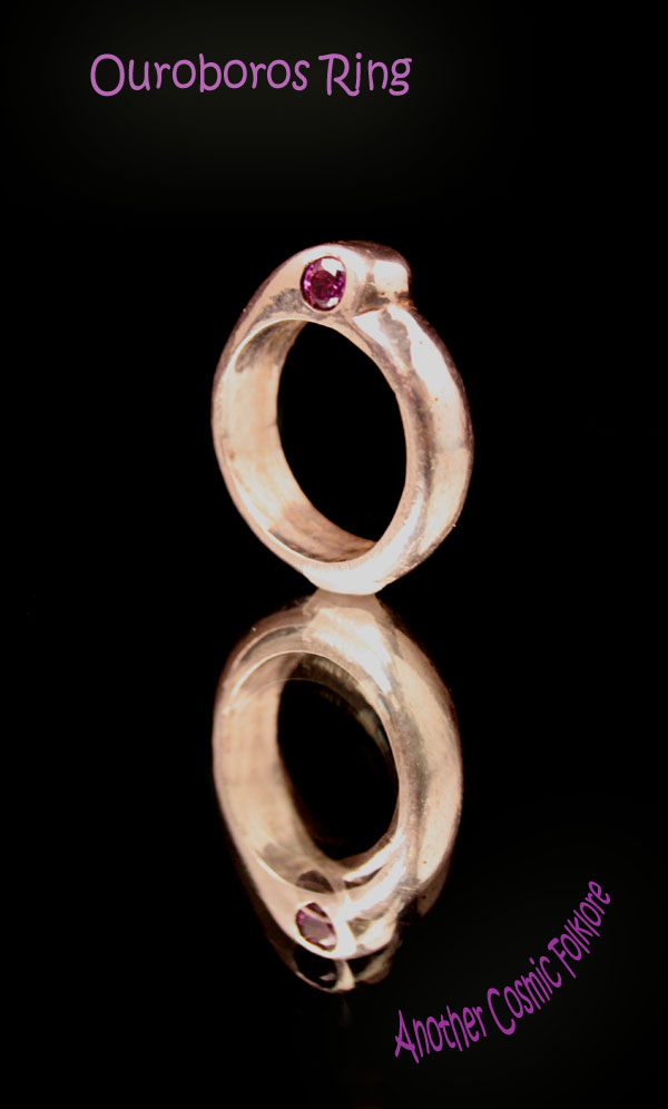 Ouroboros Ring by CosmicFolklore