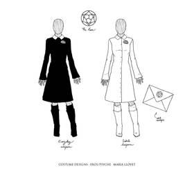 EROS PSYCHE Costume Designs